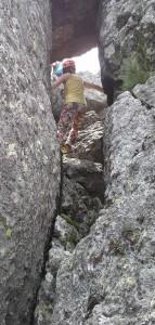 По каменните реки към вр. Камен дел, Витоша