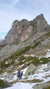 Ето ги Ушите - малък скален масив, привличал вниманието на фотографи и катерачи.