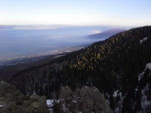 Магическата гледка към Софийско поле.
