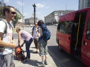 Първата доставка от Франция за България, средата на юли. Разходихме се из софийските жеги, преди да поемем към полите на Витоша за първа нощувка.