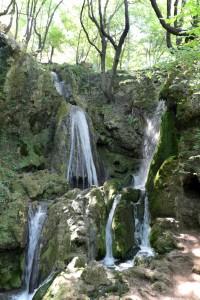 Ето един от красивите и характерни за района водопади! Сред най-любимите ми в България са тези.