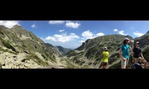 Панорамна гледка към долината на вр. Мальовица.