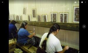 Разгледахме фабриката за килими в гр. Костандово. В момента изработват репродукции по френски имперски образец, първите ще им отнемат по 6 месеца!