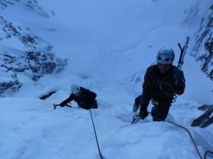 ледено катерене на Голям Скакавишки водопад