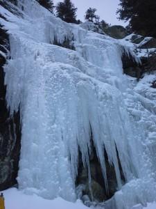 Малък Скакавишки водопад - общ изглед.
